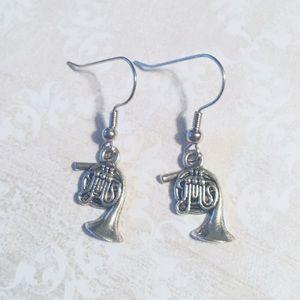 Jewelry - French Horn Earrings